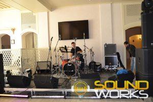 Корпоратив с участием Кузьмы Скрябина,Тех обеспечение компания SoundWorks