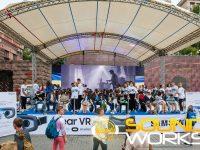 Samsung Gear vr Тех обечпечение и сцена компания SoundWorks