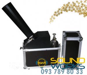 Аренда конфетти пушки SoundWorks