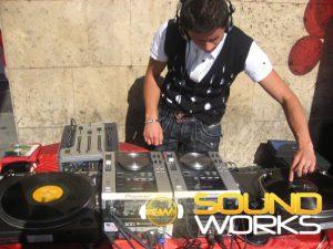 Музыкальное и тех. сопровождение акций citycom Компания SoundWorks
